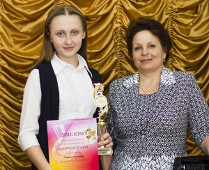 Малинина Лиза и Милосердова Надежда Трофимовна