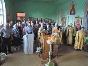 Владимир в храме Черепаново 2