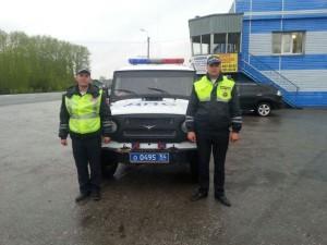 полицейские ГИБДД